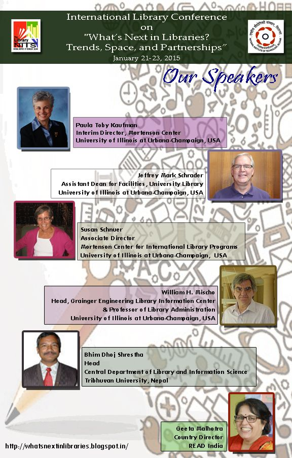 Speakers of WNL 2015   International Conference on