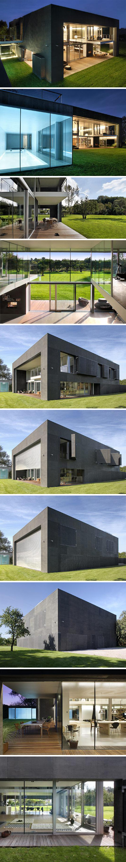 """Zombie Proof House (""""The Safe House,"""" designed by KWK Promes)   on home design, fortified house design, guard house design, zombie apocalypse house, earthquake proof house design, best underground bunker design, earthquake resistant building design, minecraft hut design, coach house design, native house design, hurricane proof house design, defensive house design, modern bunker design, oban & 2 by agushi workroom design, zombie cakes design, zombie protection house, underground concrete house design, minimal house design,"""