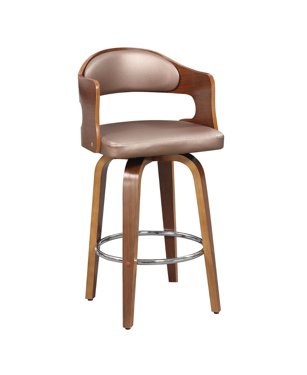 Ac Pacific Counter Seat Height Swivel Barstool & Reviews ...