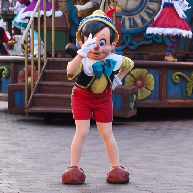 #Disneyland Paris. Pinocchio in the Parade Cavalcade #DLP #DLRP #Disney