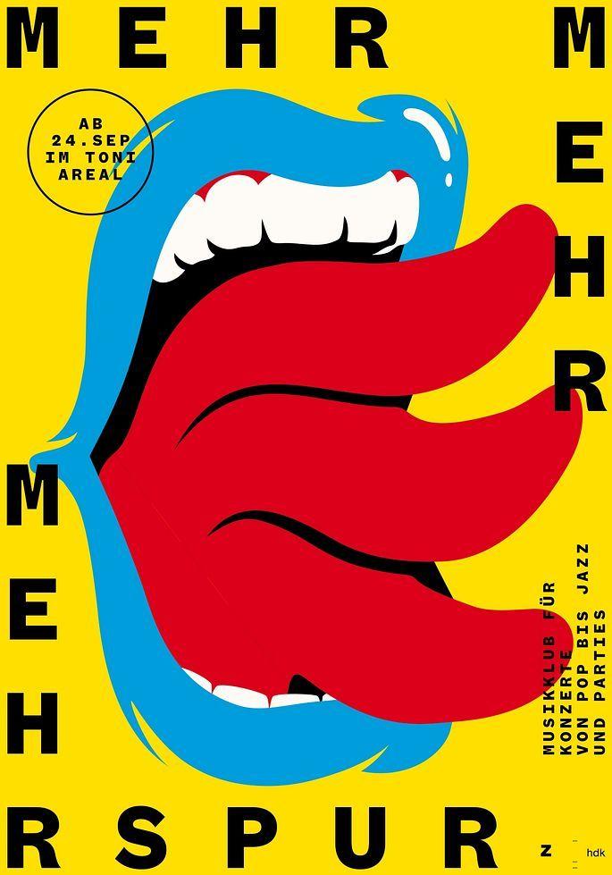 Mehr Mehr Mehrspur 100 Beste Plakate E V Grafikdesign Inspiration Grafische Poster Plakat Design