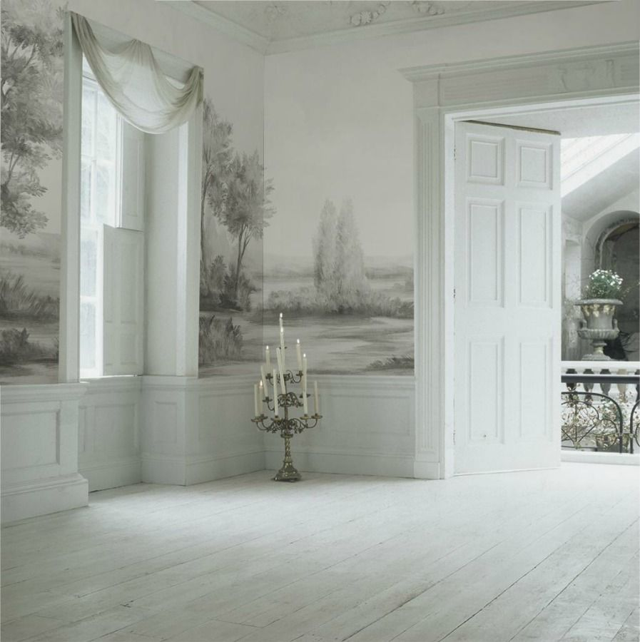 Interior Garden Design Timeless Swedish: Susan Harter's Timeless & Tranquil Wallpaper Murals