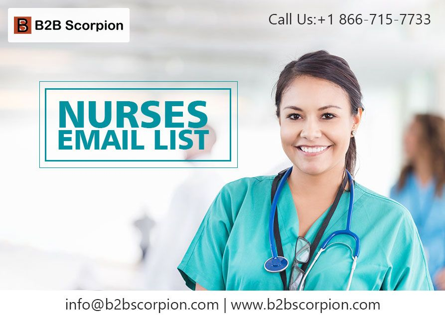 Access Millions Of Contact Details From Various Marketing Details That Assures Better Marketing Leads Nursesemail L Email List Free Quotes Nurse
