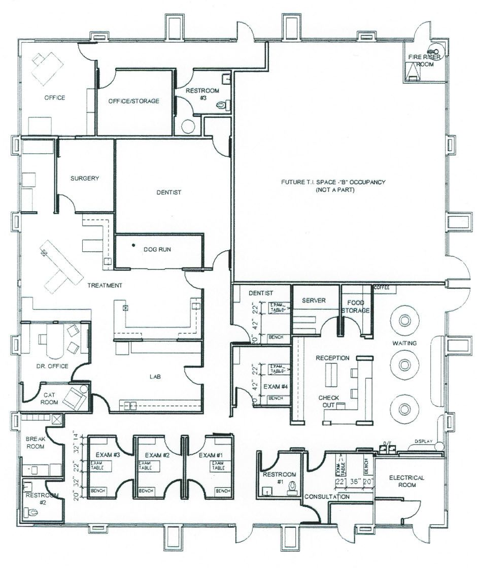 hight resolution of veterinary floor plan animal allergy and dermatology specialists