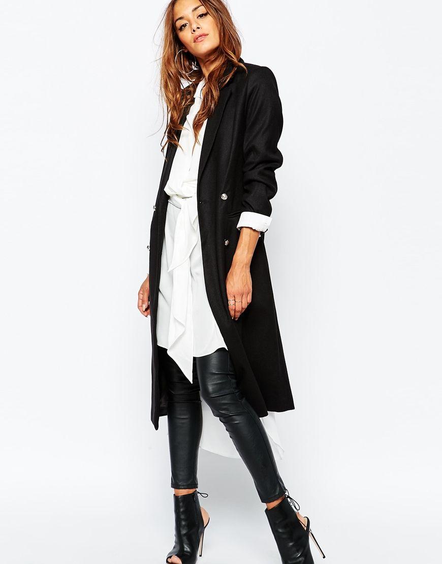 Missguided Tailored Blazer Coat   Stylin'   Blazer, Coat