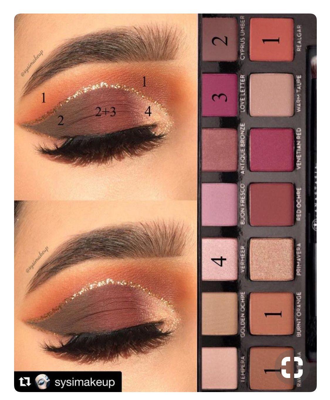 Pin De Lisett Guerrero En Makeup Maquillaje De Ojos