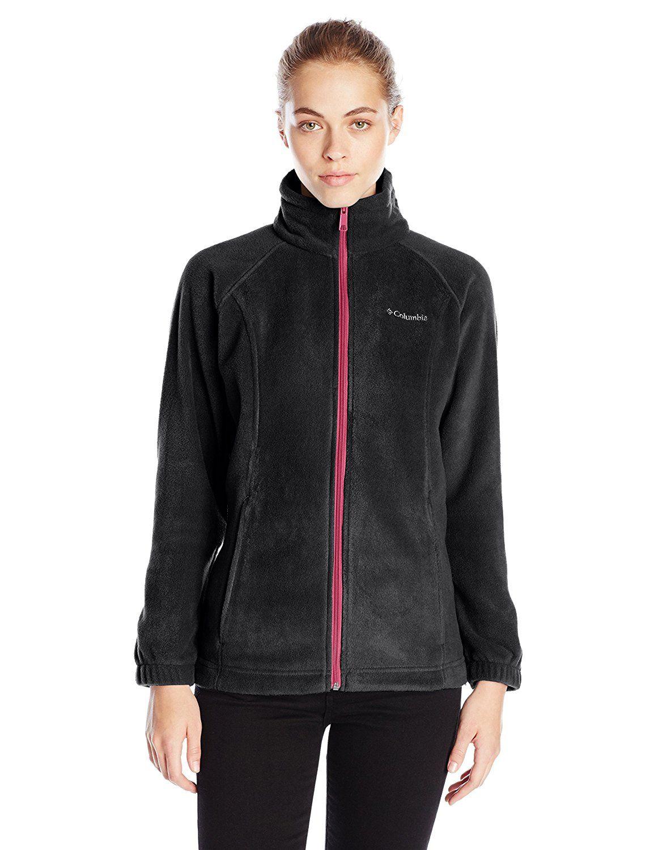 Columbia Womens Benton Springs Classic Fit Full Zip Soft Fleece Jacket