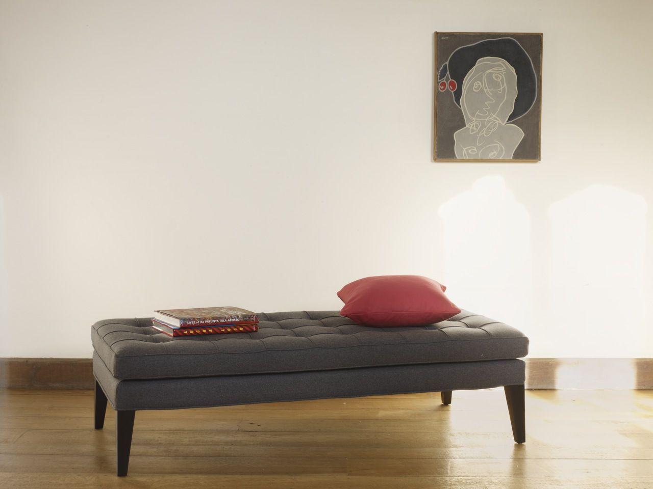 Club Large Footstool In Granite £440