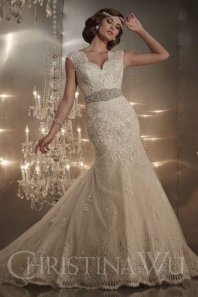 Sofisticados vestidos de novias   Colección Christina Wu   VESTIDOS ...