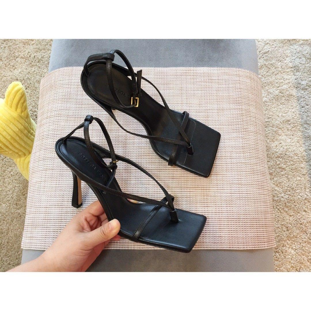 Bottega Veneta Leather Sandal Womens White 38   eBay
