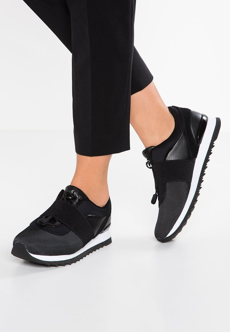 474558cb3e0f S.Oliver Women s Shoes - Feminine or rather athletic  s.Oliver Women s  Shoes s.oliver trainers - black women shoes low-top incredible prices  chicago YXGXZEW