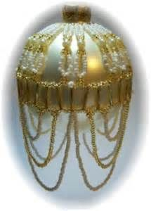 beaded christmas ornaments free patterns - Bing Images