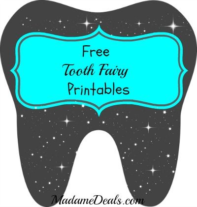 Enterprising image for free printable tooth fairy letter