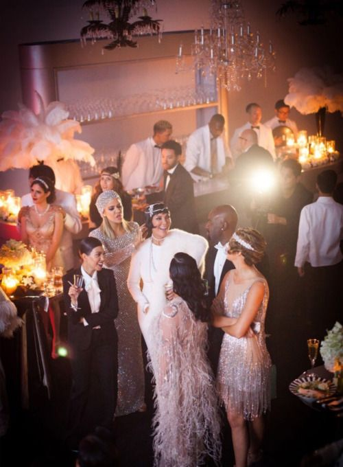 kris jenner great gatsby party - Google Search