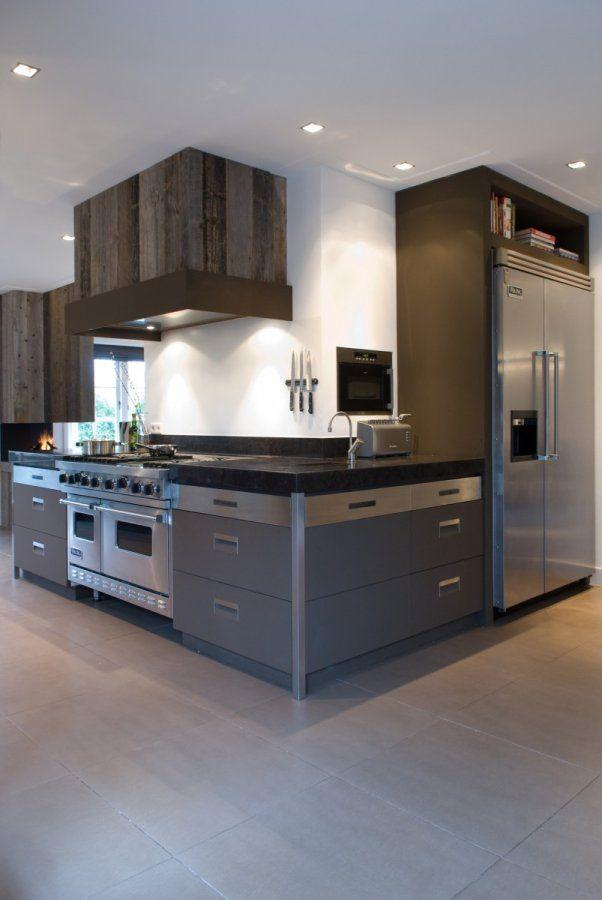 Open uitbouw keuken - Open keuken op verblijf ...