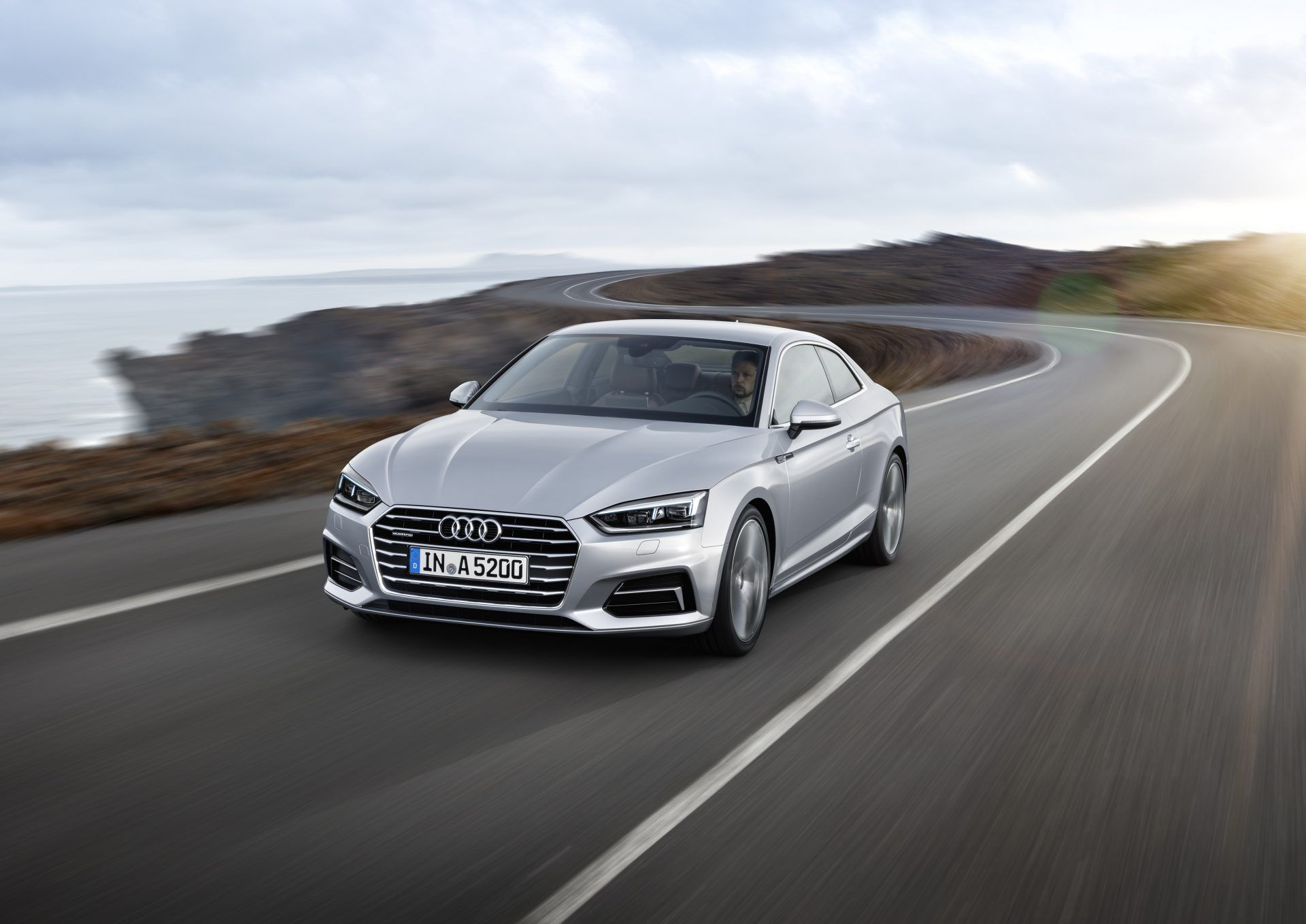 Car And Driver Tests The 2018 Audi A5 2 0t Coupe Http