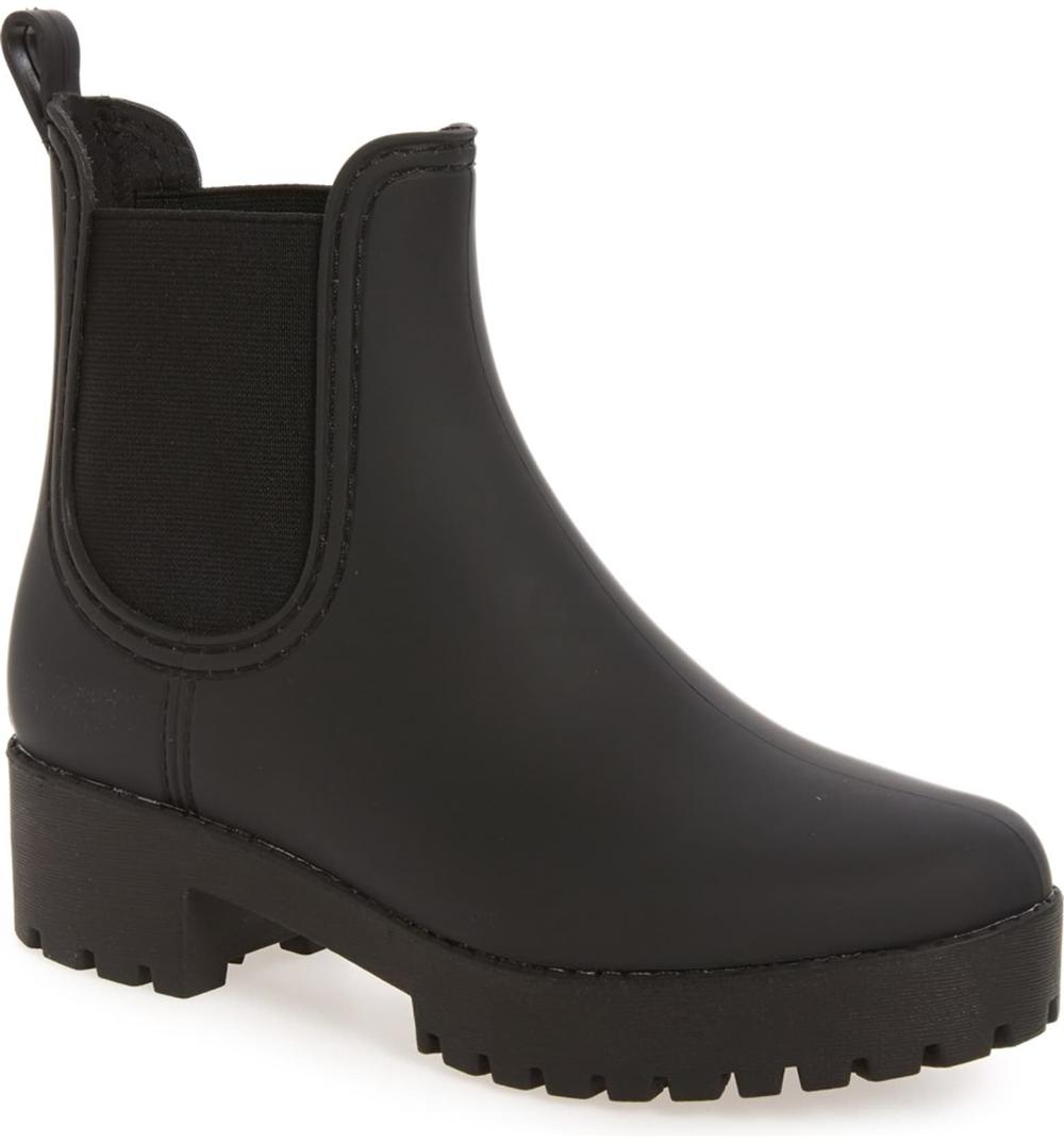 Cute rain boots, Black rain boots