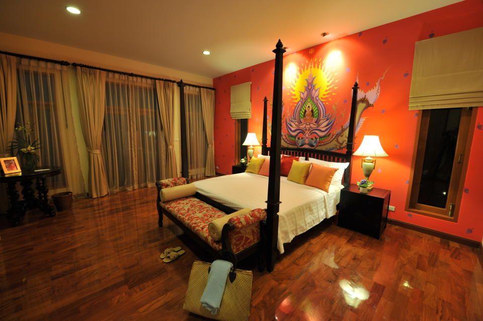 Gorgeous Thai Bedroom Design Photo From Pattaya Thailand