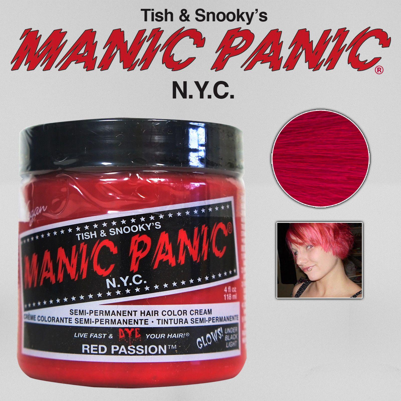 Details About Manic Panic Classic Semi Permanent Vegan Hair Dye Color All Colors 4 Oz New Vegan Hair Dye Hair Color Cream Dyed Hair