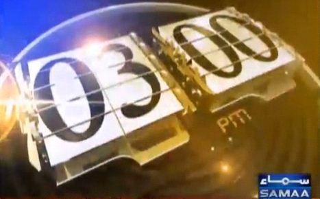 Headlines News 3-PM 7-Feb-2015 Samaa News TV