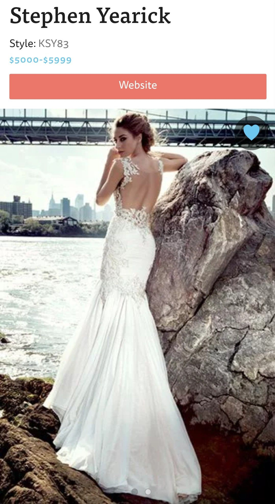 48dffd539fe Stephen Yearick Wedding Dresses