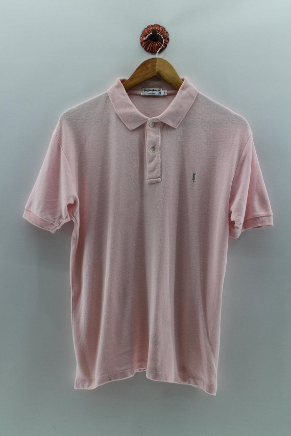c94581db2a5 YSL YVES SAINT Laurent Pullover Polos Shirt Men Medium Ysl Pour ...