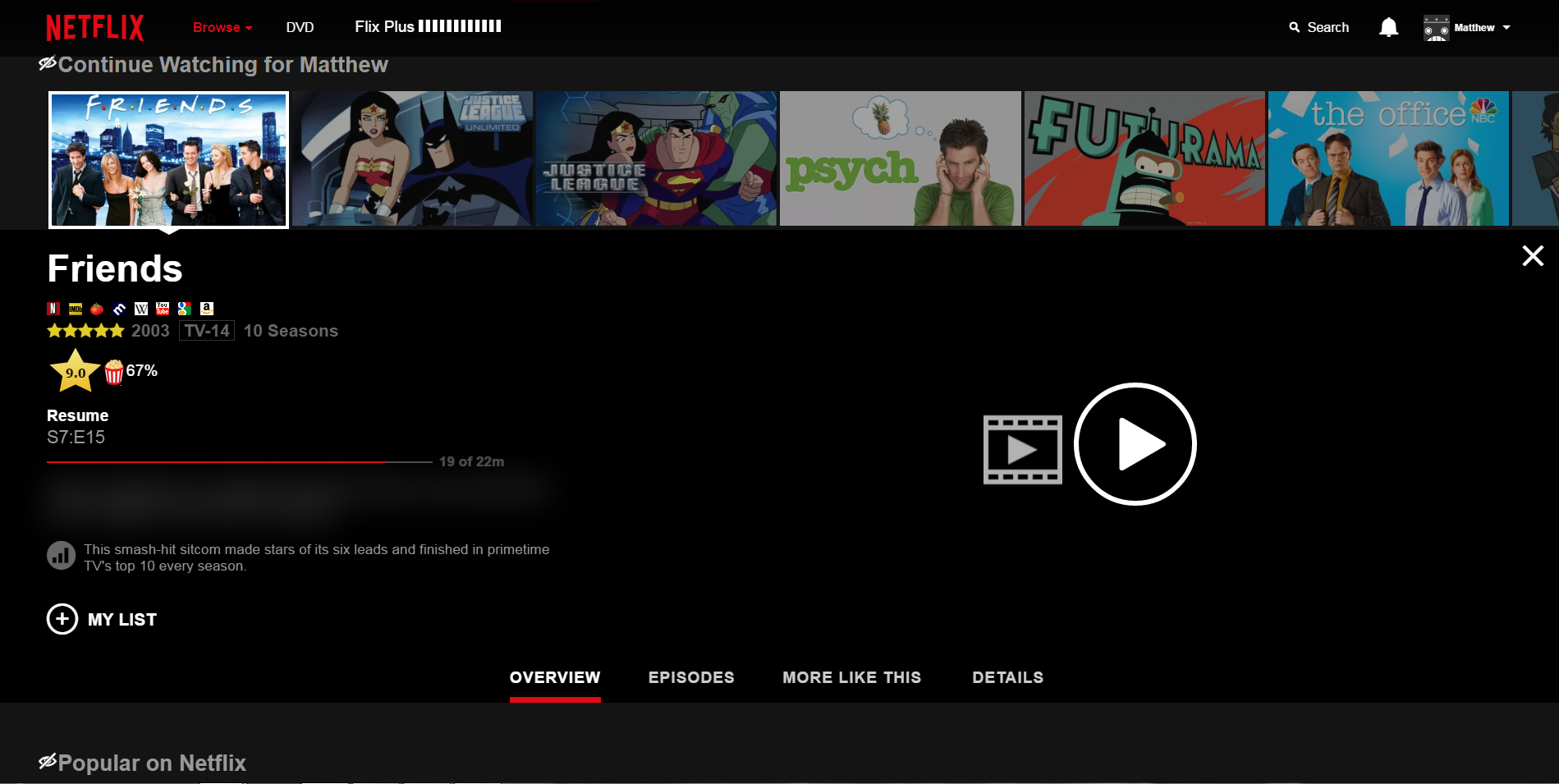 [US] Why does Netflix look like this? Its only on my PC