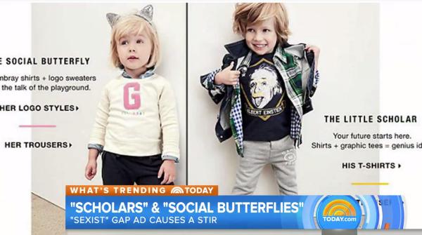 Gap Kids Ad Stirs Outrage