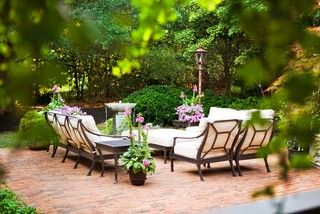 City: McDougald Residence - Traditional - Patio - by Linda McDougald Design   Postcard from Paris Home