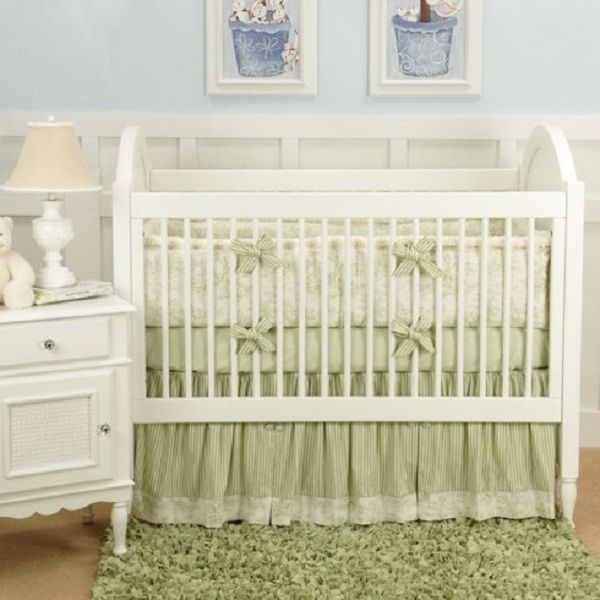 Moss Green Baby Bedding Green Toile Bedding Sets Baby Bedding