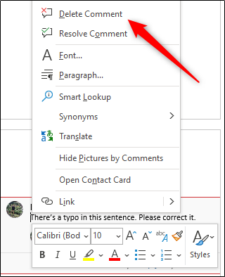 How To Add And Remove Comments In Word In 2020 How To Remove Words Ads