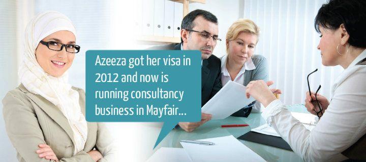 we sent visa for Azeeza