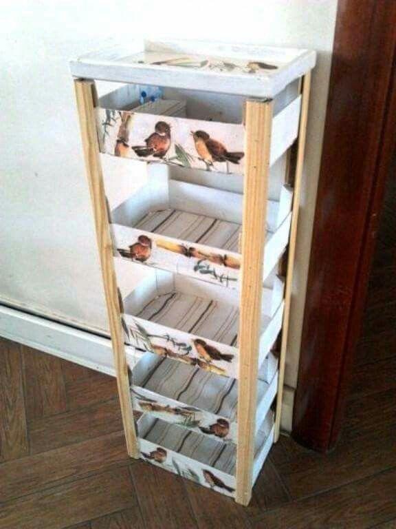 Cajones de fruta reciclaje pinterest cajones de - Fresas para madera ...