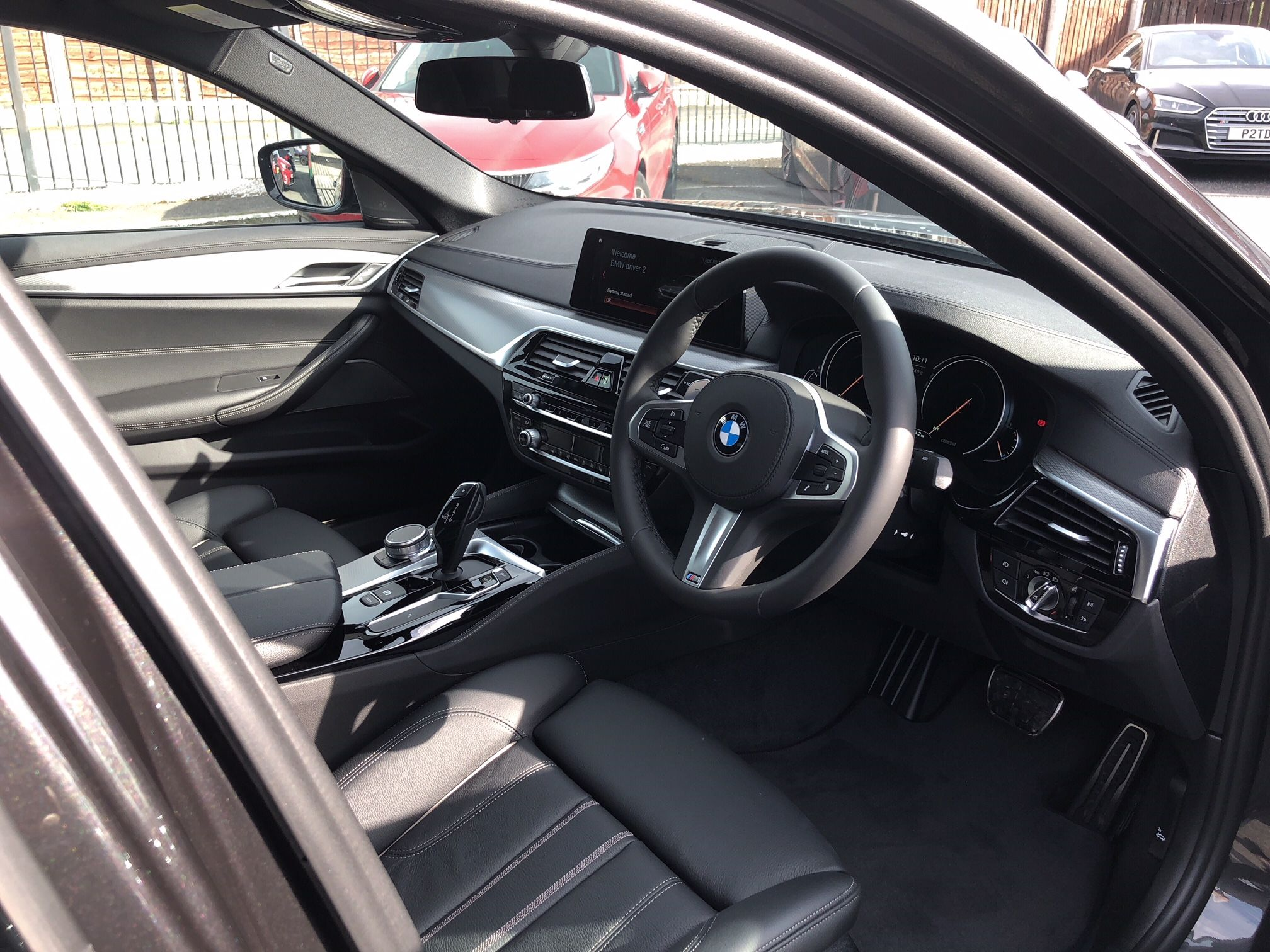 The Bmw 5 Series Diesel Saloon 520d M Sport 4dr Auto Cars