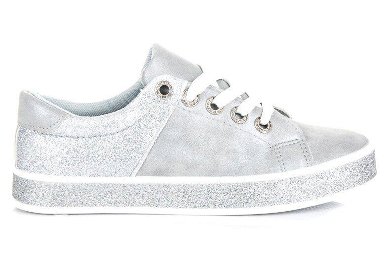 Seastar Szare Trampki Na Wiazanie Superga Sneaker Sneakers Tretorn Sneaker