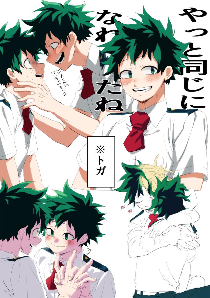 Characters Midoriya Izuku Himiko Toga My Hero My Hero Academia Hero
