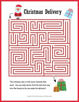 No Prep Christmas Worksheets Puzzle PACKET | Christmas puzzle, Christmas crossword, Christmas worksheets