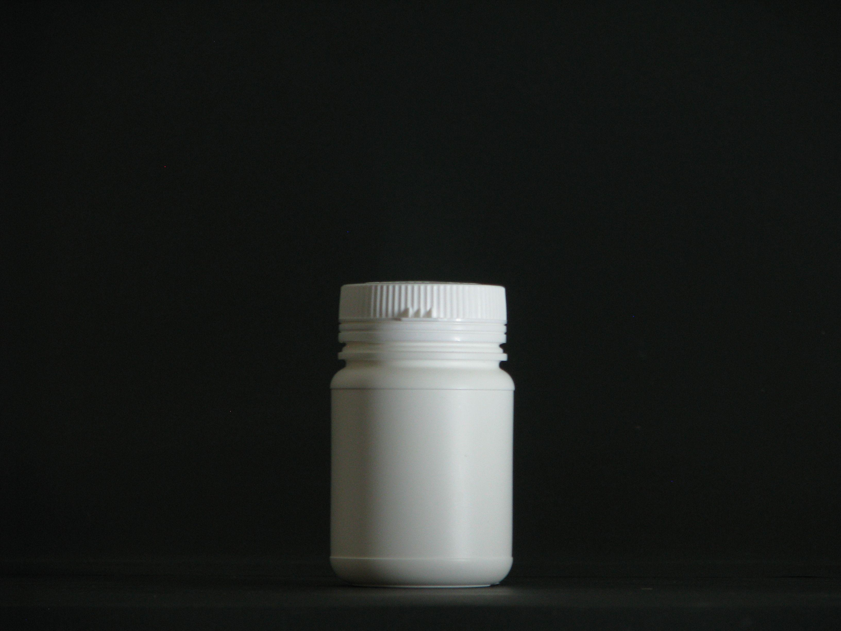 30ml1200ml lift cover white round HDPE plastic pill