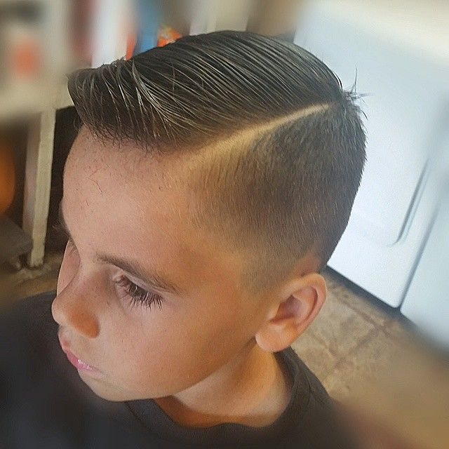 Slick Haircut With A Quiff Boys
