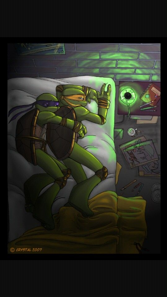 Raph and Leo screaming) Mikey: Donnie? Donnie: Yeah Mikey
