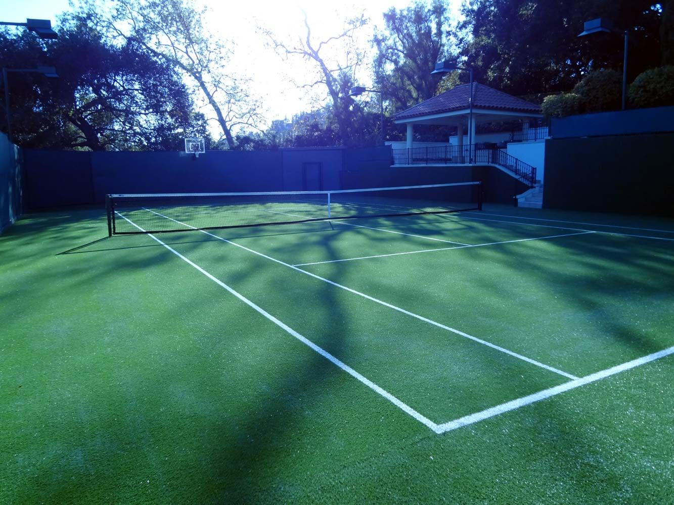 Synthetic Turf Tennis Court Tennis Court Tennis