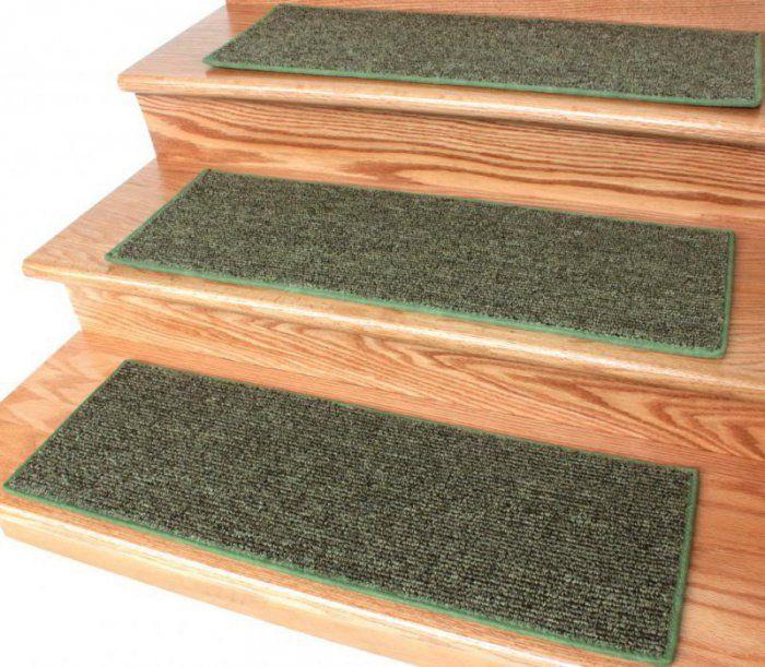 Best Ingenious Grass Green 20 Oz Loop Berber Indoor Stair 400 x 300