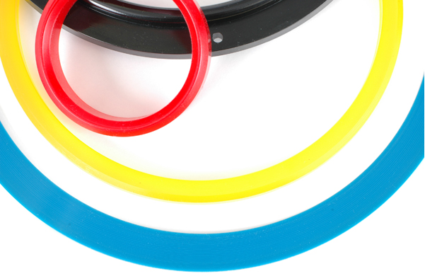 Custom polyurethane rings can be custom formulated to meet specific needs, including FDA wet or dry requirements.
