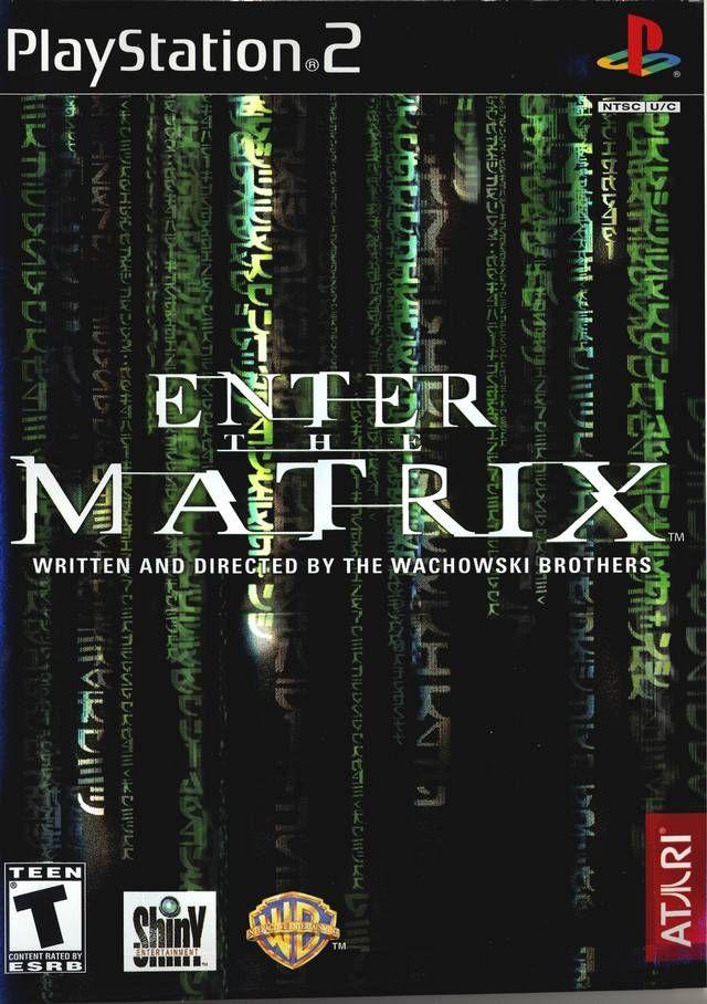 Enter The Matrix Sony Playstation 2 Game Playstation The Matrix