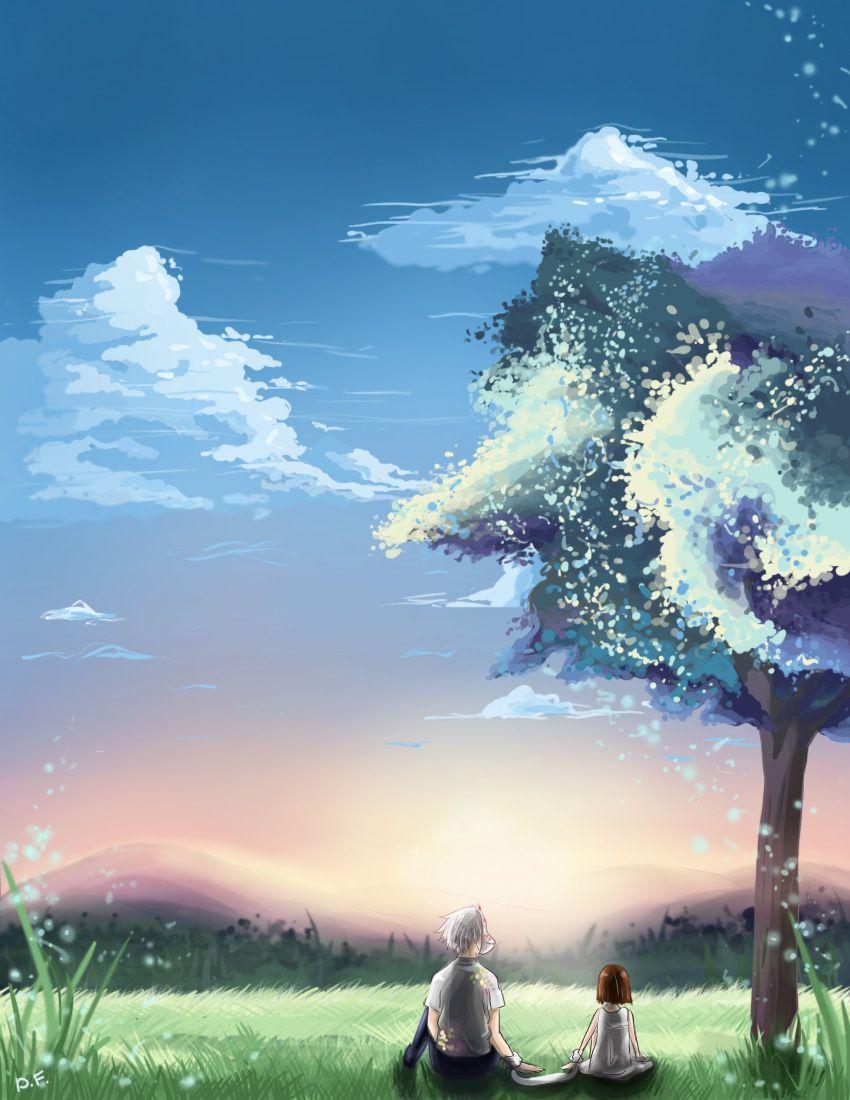 Image Result For Anime Hotarubi No Mori Ea