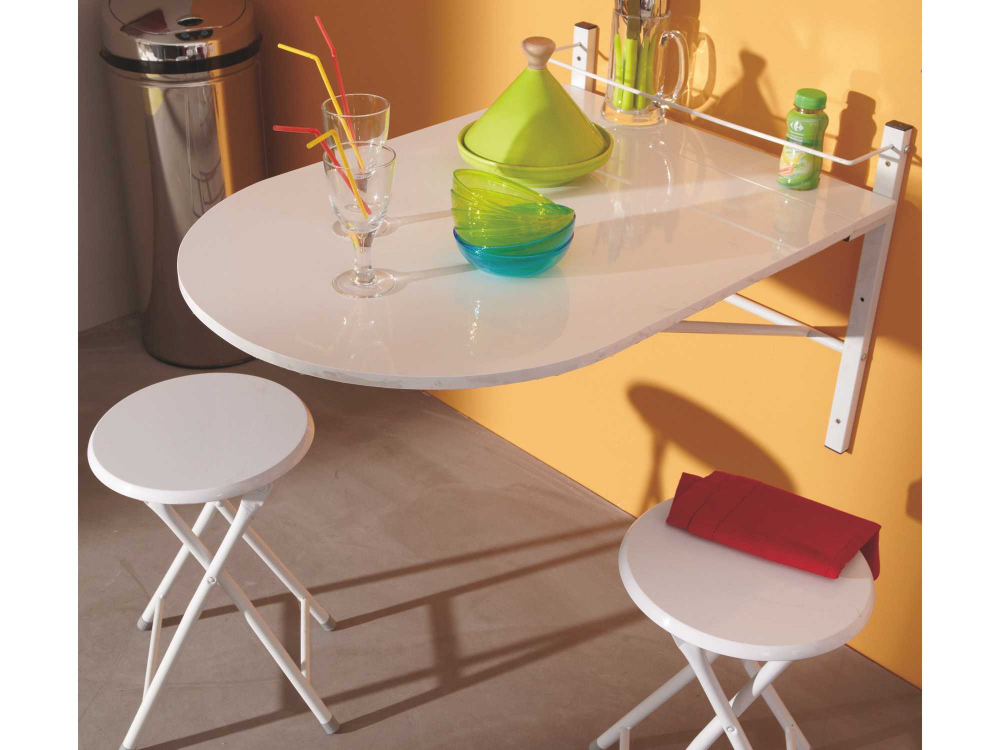 Table De Cuisine Pliante A Fixer Au Mur Table De Cuisine Pliante