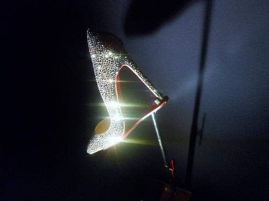 Bling-bling shoes, Louboutin exibit, Toronto - Picture of Design ...