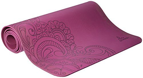 Prana Henna Eco Yoga Mat One Size True Orchid Check This Awesome Product By Going To The Link At The Image Print Yoga Mat Mat Exercises Yoga Mat