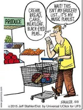 No Doubt Music Jokes Music Humor Funny Cartoons