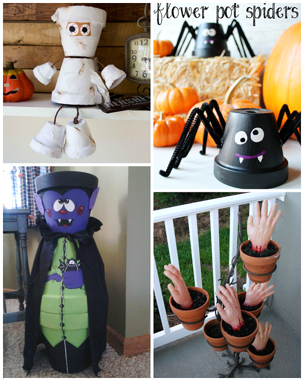 Flower Pot Halloween Crafts for kids to make! - Crafty Morning & Flower Pot Halloween Crafts for kids to make! - Crafty Morning ...